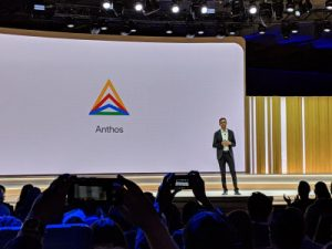 Google CloudはGoogle Cloud Next '19でAnthosを発表した。