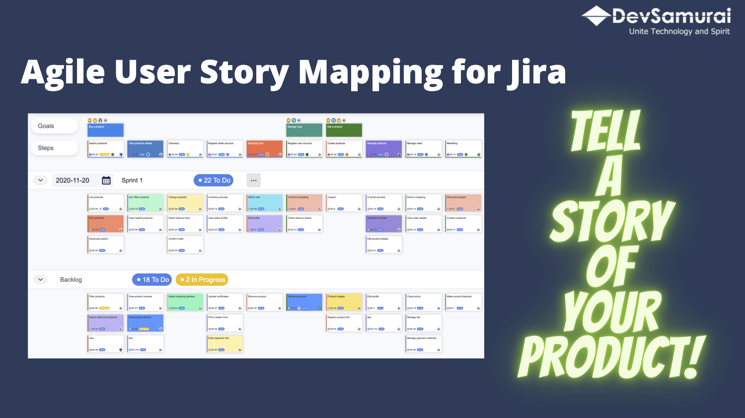 How to build products that your customers love with Agile User Story Mapping in Jira