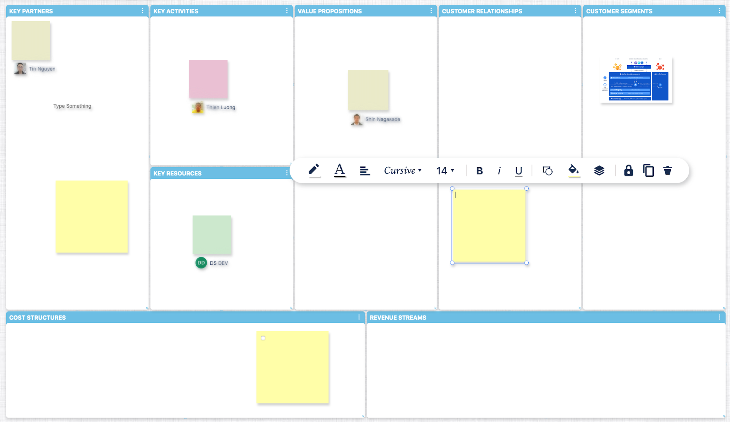 Envisage your ideas using LeanBoard App