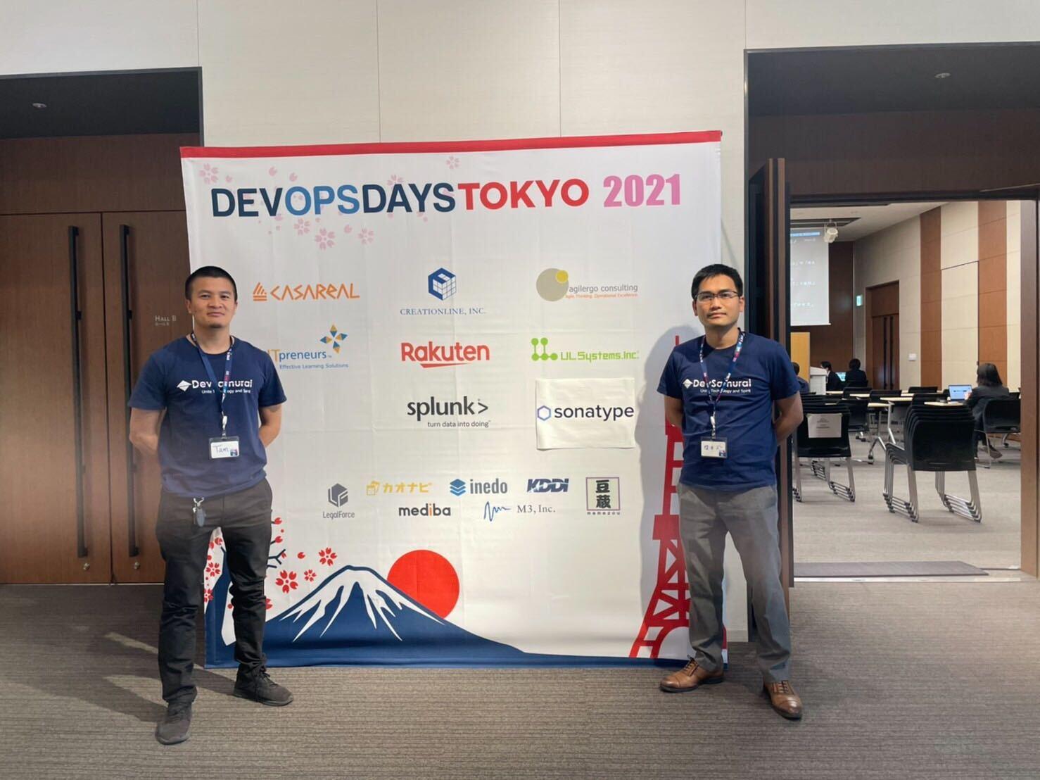 DevOps Day Tokyo 2021は開催され、DevSamuraiは出展